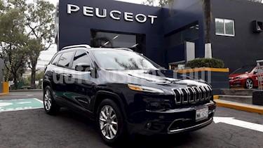 Foto venta Auto Seminuevo Jeep Cherokee Limited Plus (2016) color Azul Real precio $369,900
