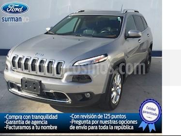 Foto venta Auto Usado Jeep Cherokee Limited Premium (2015) color Plata precio $319,999