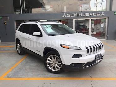 Foto venta Auto Usado Jeep Cherokee Limited Premium (2014) color Blanco precio $295,000