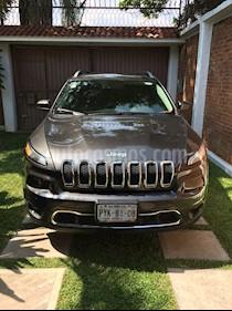 Foto venta Auto usado Jeep Cherokee Limited Premium (2014) color Gris precio $270,000