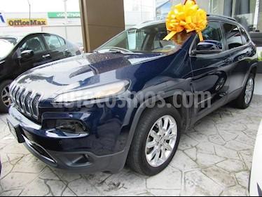 Foto venta Auto Usado Jeep Cherokee Limited Premium (2014) color Azul precio $260,000