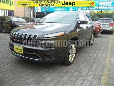Foto venta Auto Usado Jeep Cherokee Limited (2015) color Gris precio $347,000