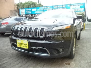 Foto venta Auto Usado Jeep Cherokee Limited (2016) color Negro precio $377,000