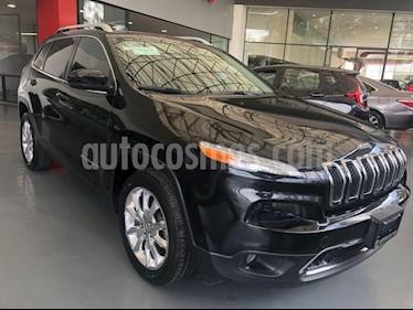 Foto venta Auto Usado Jeep Cherokee Limited (2015) color Negro precio $335,000