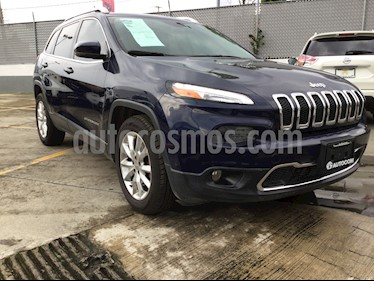 Foto venta Auto Seminuevo Jeep Cherokee Limited (2015) color Azul Real precio $280,000