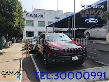 Foto venta Auto Usado Jeep Cherokee TrailHawk (2017) color Rojo precio $534,900