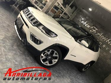 Foto Jeep Compass 2.4 4x4 Limited Aut usado (2019) color Blanco precio $2.390.000