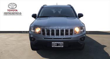 Foto venta Auto Usado Jeep Compass 2.4L 4x4 Sport (2014) color Azul Celeste precio $460.000