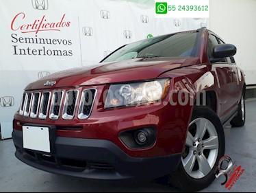 Foto venta Auto Seminuevo Jeep Compass 4x2 Latitude Aut (2014) color Rojo precio $204,900