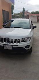 Foto venta Auto usado Jeep Compass 4x2 Latitude Aut (2015) color Blanco precio $208,000