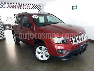 Foto venta Auto Usado Jeep Compass 4x2 Latitude (2014) color Rojo precio $185,000