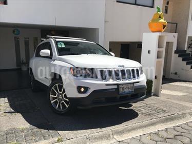 Foto venta Auto Seminuevo Jeep Compass 4x2 Limited Aut (2014) color Blanco precio $179,000
