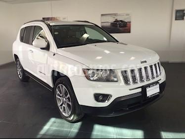 Foto venta Auto Usado Jeep Compass 4x2 Limited Aut (2015) color Blanco precio $245,000
