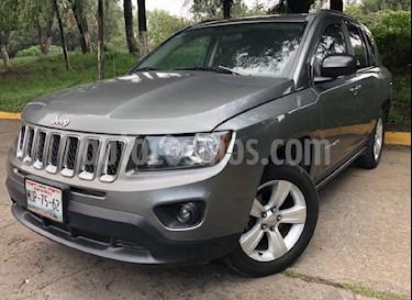 Foto venta Auto Usado Jeep Compass 4x2 Limited Aut (2014) color Gris precio $219,000