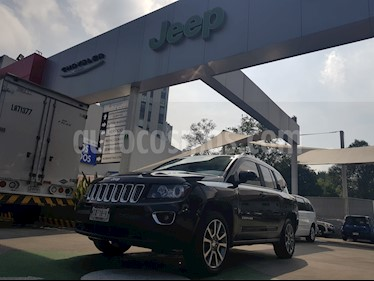 Foto venta Auto Seminuevo Jeep Compass 4x2 Limited CVT (2014) color Cafe precio $225,000