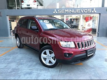 Foto venta Auto Seminuevo Jeep Compass 4x2 Limited CVT (2012) color Rojo precio $170,000