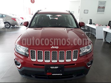 Foto venta Auto Usado Jeep Compass 4x2 Limited Premium CVT Nav  (2014) color Rojo Cerezo precio $215,000
