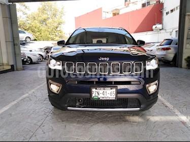 Foto venta Auto Seminuevo Jeep Compass 4x2 Limited Premium CVT Nav  (2018) color Azul precio $45,000