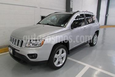 Foto venta Auto Usado Jeep Compass 4x2 Limited Premium CVT (2013) color Plata precio $217,000