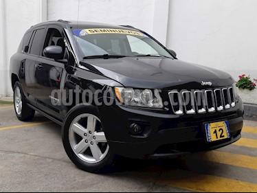 Foto venta Auto Seminuevo Jeep Compass 4x2 Limited Premium CVT  (2012) color Negro precio $197,500