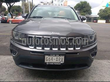 Foto venta Auto Seminuevo Jeep Compass 4x4 Limited Premium CVT Nav  (2015) color Gris Mineral precio $250,000