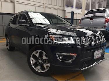 Foto venta Auto Usado Jeep Compass 4x4 Limited Premium CVT (2018) color Gris precio $480,000