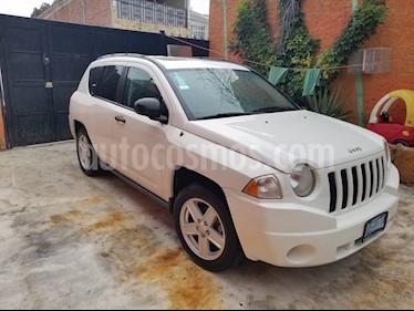 Foto venta Auto Seminuevo Jeep Compass 4x4 Limited Premium CVT (2007) color Blanco precio $115,000
