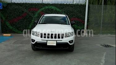 Foto venta Auto Usado Jeep Compass Latitude (2015) color Blanco precio $244,000