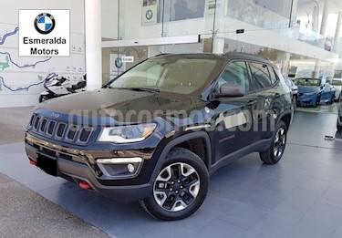 Foto venta Auto Seminuevo Jeep Compass Trailhawk 4X4 (2018) color Negro precio $590,000
