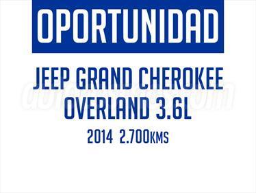 foto Jeep Grand Cherokee 3.6L Overland