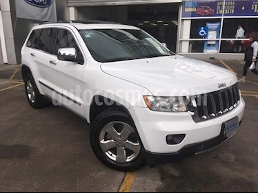 Foto venta Auto Seminuevo Jeep Grand Cherokee Limited 3.6L 4x2 (2013) color Blanco Oxford precio $290,000