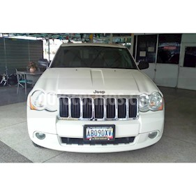 Foto venta carro Usado Jeep Grand Cherokee Limited 4.7L Aut 4x4 (2010) color Blanco