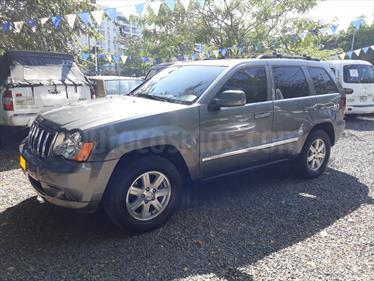 Jeep Grand Cherokee Limited Auto. 4x4 usado (2008) color Gris precio $39.500.000