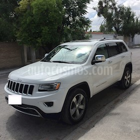 Foto venta Auto usado Jeep Grand Cherokee Limited Lujo 3.6L 4x2 (2016) color Blanco precio $459,000