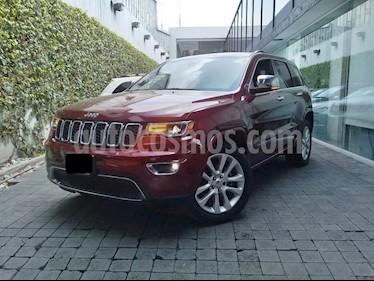 Foto venta Auto Seminuevo Jeep Grand Cherokee Limited Lujo 3.6L 4x2 (2017) color Rojo precio $580,000
