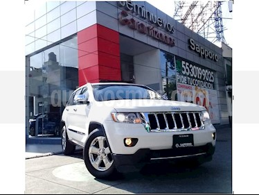Foto venta Auto Usado Jeep Grand Cherokee Limited Lujo 5.7L 4x4 (2012) color Blanco precio $295,000