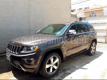 Foto venta Auto usado Jeep Grand Cherokee Limited Navegacion 4x2 3.6L V6  (2015) color Gris Mineral precio $415,000
