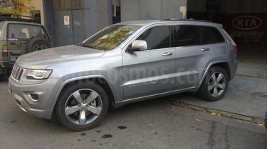Foto venta Auto Usado Jeep Grand Cherokee Overland 3.6 (2013) color Gris Claro precio $930.000