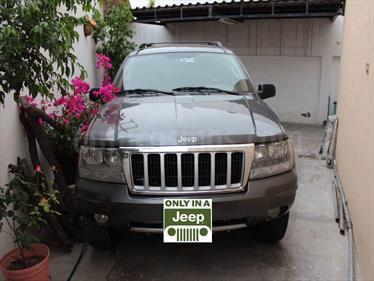 Foto venta Auto usado Jeep Grand Cherokee SE 4X2 (2004) color Gris Grafito precio $85,000