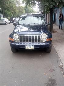 Foto venta Auto Usado Jeep Liberty Limited 4X2 (2006) color Azul precio $80,000