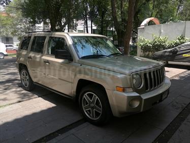 Foto venta Auto usado Jeep Patriot 4x2 Sport CVT (2009) color Arena precio $143,000