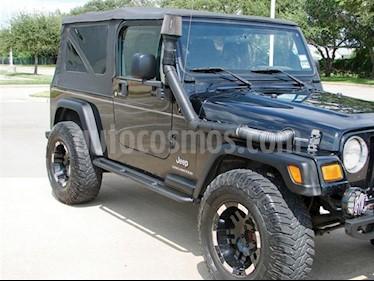 Foto venta Auto Usado Jeep Wrangler Rubicon 4x4 4.0L Techo Duro (2006) color Negro precio $133,899