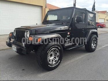 Foto venta Auto usado Jeep Wrangler Rubicon 4x4 4.0L Techo Duro (2004) color Negro precio $115,000