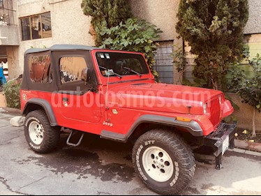 Foto venta Auto usado Jeep Wrangler Rubicon 4x4 4.0L Techo Lona (1995) color Rojo precio $130,000