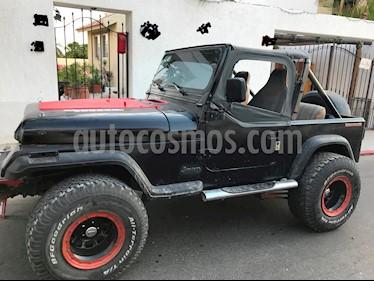 Foto venta Auto Seminuevo Jeep Wrangler S (1990) color Negro precio $50,000
