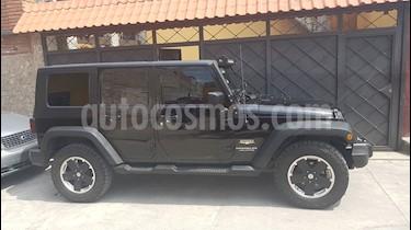 Foto venta Auto usado Jeep Wrangler Sahara 4x4 3.8L Aut (2008) color Negro precio $350,000