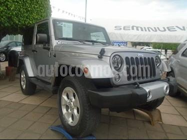 Foto venta Auto Seminuevo Jeep Wrangler Sahara 4x4 3.8L Aut (2015) precio $460,000