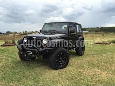 Foto venta Auto Usado Jeep Wrangler Sport Aut 2P (2013) color Negro precio $800.000