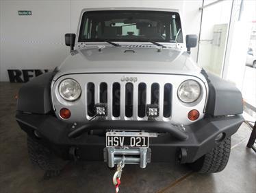 Foto venta Auto Usado Jeep Wrangler Sport Aut (2009) color Plata precio $660.000