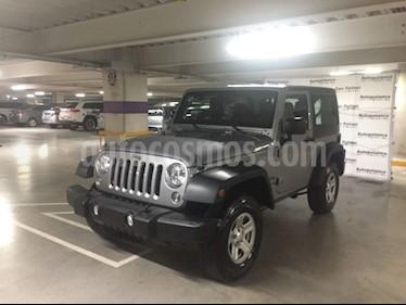 Foto venta Auto Seminuevo Jeep Wrangler Sport MTX 4x4 3.6L (2016) color Plata Martillado precio $429,000